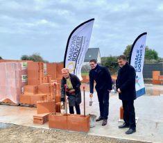 Pose de la première pierre pour les logements sociaux à Batz sur Mer