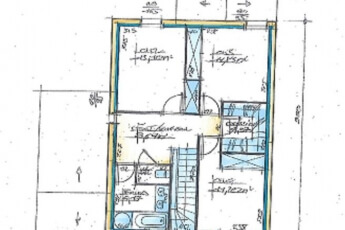 Maisons Bouvier : plan étage