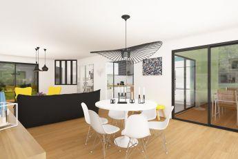 Maisons Bouvier : salle à manger
