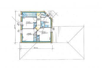 Maisons Bouvier : plan de l'étage