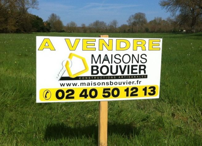Terrain viabilisé, Bouaye, Loire-Atlantique, 44, Maisons Bouvier