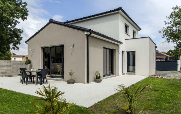 Maisons Bouvier : façade arrière