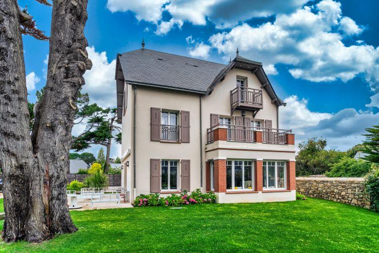 Villa bauloise, vue mer, traditionnelle, régionale, chambres, dortoirs, familiale, suites